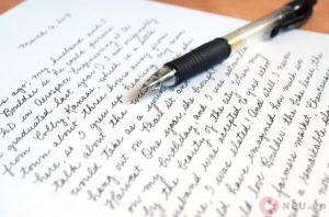 Handwriting - Chữ viết tay