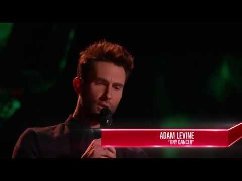 Khi Adam Levine đi thi The Voice