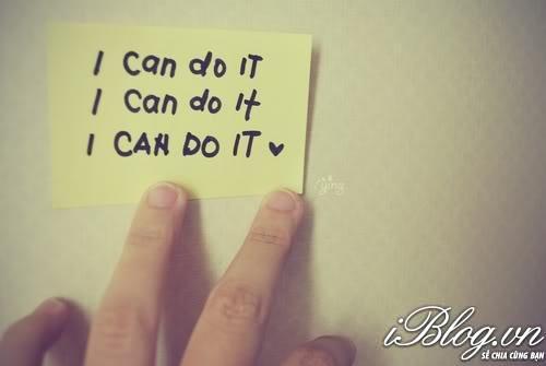 Tôi sẽ làm được