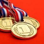 Tấm huy chương vàng