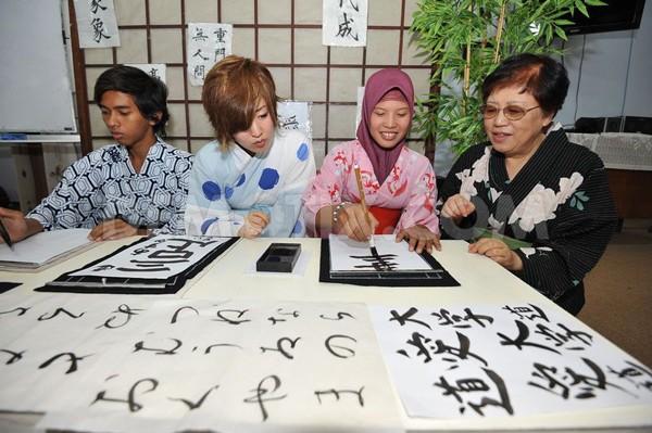học tiếng Nhật hiện nay rất phổ biến hn