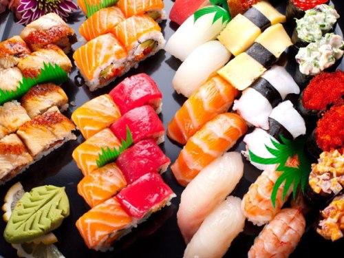 sushi Nhật Bản có sự đa dạng về loại nhiều