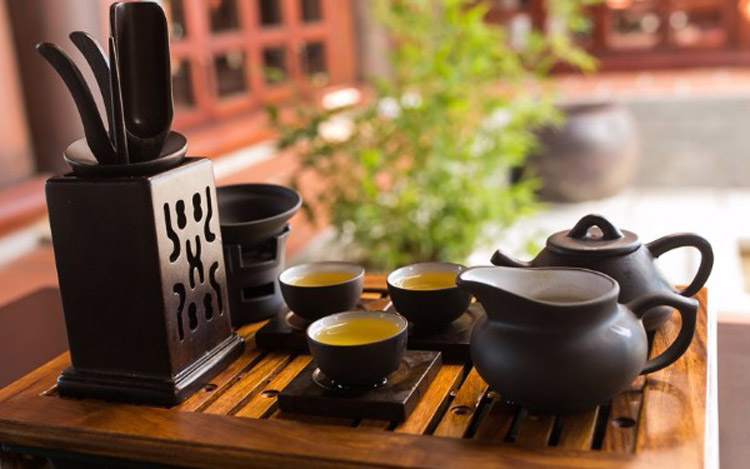 văn hóa trà đạo mang nét truyền thống NB