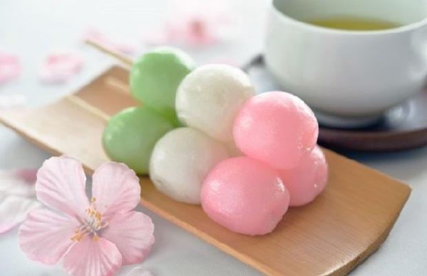 Bánh Dango nổi tiếng Nhật Bản hn