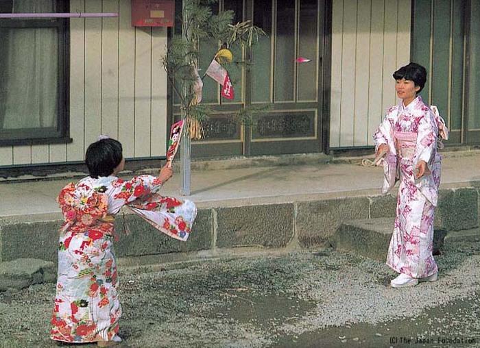 Hanetsuki - trò chơi truyền thống Nhật Bản hn