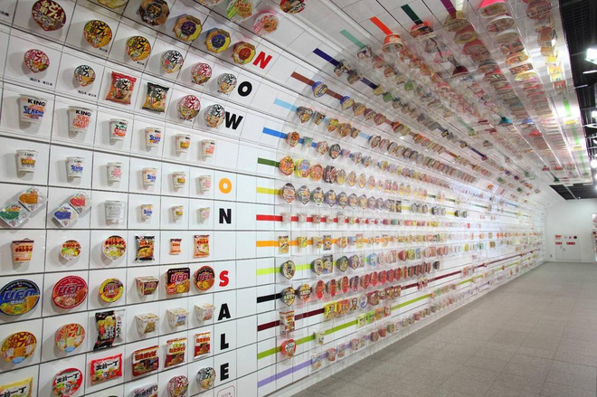 bảo tàng mỳ ăn liền nổi tiếng Nhật Bản hn