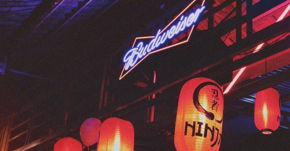 quán bar Ninja nổi tiếng Nhật Bản hn