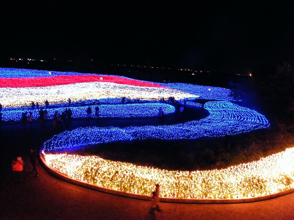 công viên giải trí Nabana no Sato nổi tiếng Nhật Bản hn