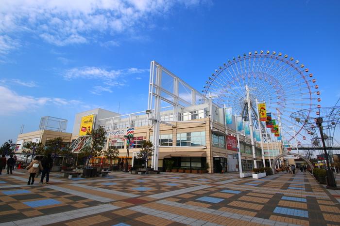 khu thương mại Tempozan nổi tiếng hn