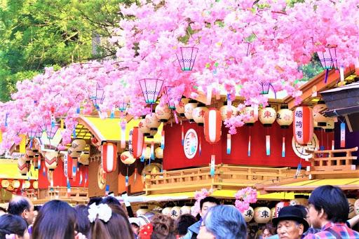 Liên hoan Yayoi Matsuri truyền thống của Nhật Bản hn
