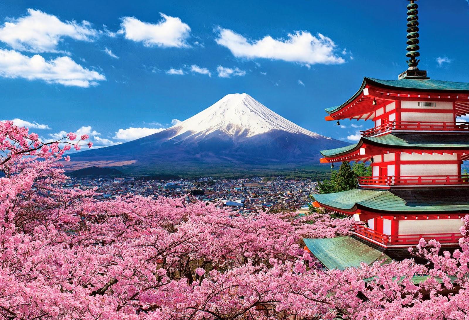 những địa điểm du lịch Nhật bản hn