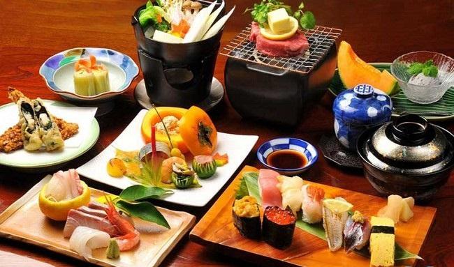 Top 5 món ăn Nhật Bản nổi tiếng hn